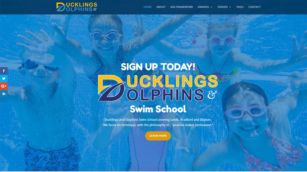 Ducklings-and-Dolphins-Home-Page