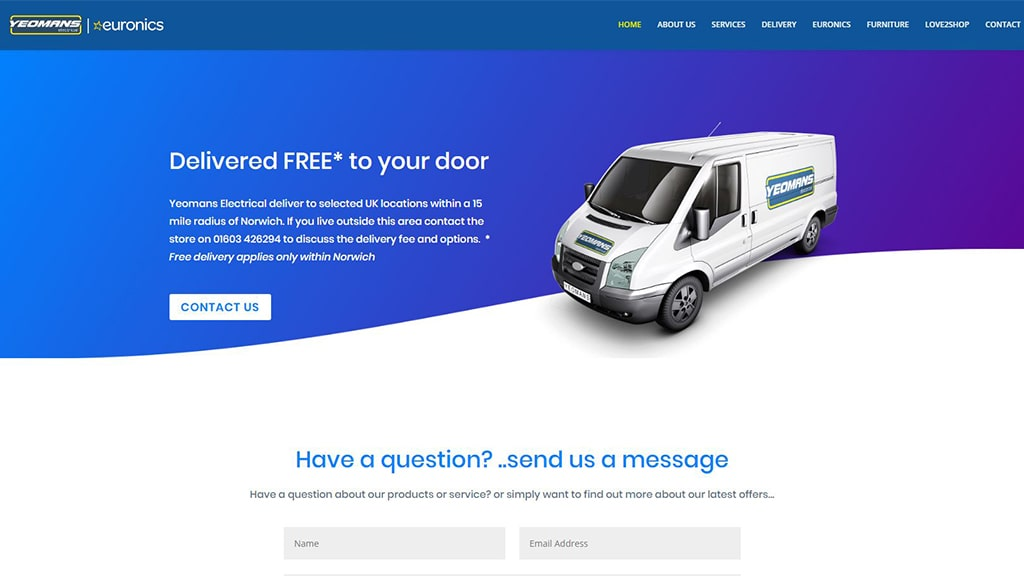 Yeomans-Electrical-Delivery-webwoo-web-design