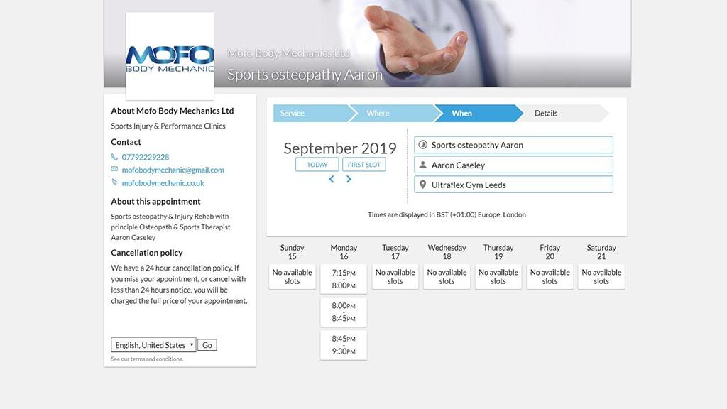 MofO Body Mechanic Booking form-min